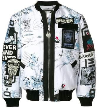 Diesel J-Enka bomber jacket