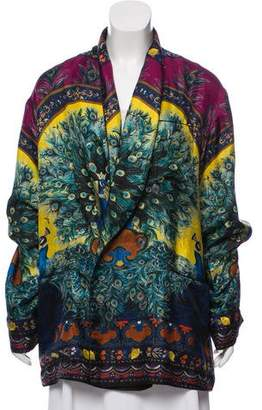 Dolce & Gabbana Silk Printed Blazer