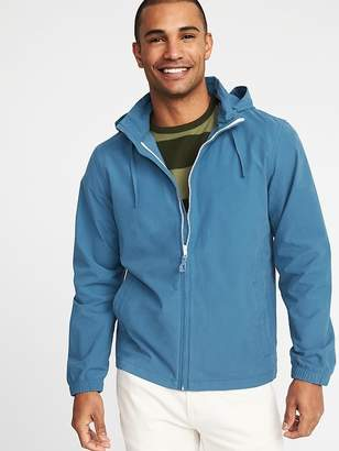 Old Navy Water-Resistant Nylon-Blend Stowaway-Hood Jacket for Men