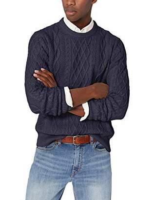 J.Crew Mercantile Men's Cable Knit Crewneck Sweater