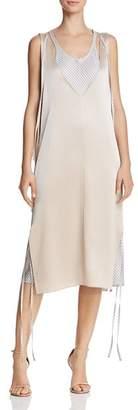 Alexander Wang Layered Satin Slip Dress