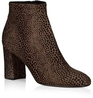 HOBBS LONDON Hannah Calf Hair Ankle Booties $475 thestylecure.com