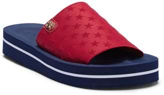 Tommy Hilfiger Stretchy Slide Sandal