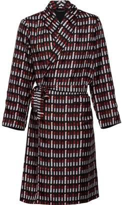 Prada Silk twill robe