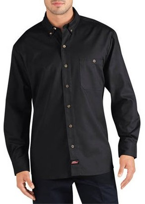Dickies Genuine Men's Big Long Sleeve Canvas Work Shirt