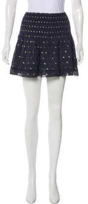 Tryb 212 Polka Dot Mini Skirt