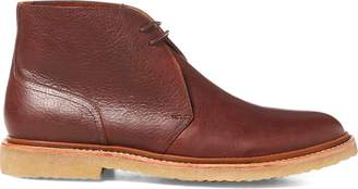 Ralph Lauren Karlyle Leather Chukka Boot