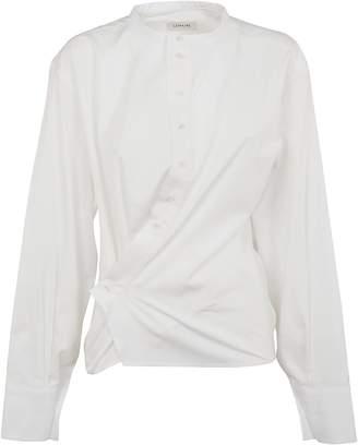 Lemaire Asymmetric Button Up Blouse