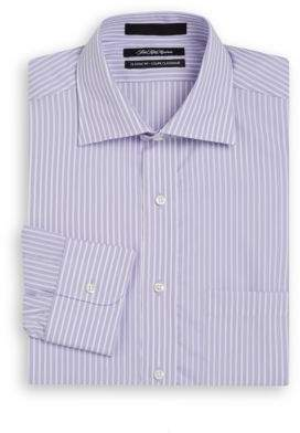 Saks Fifth Avenue Classic-Fit Bengal Striped Cotton Dress Shirt