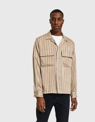 Maiden Noir Stripe Rayon Shirt