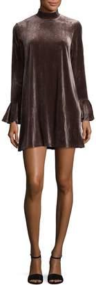 Lucca Couture Women's Emma Mockneck Shift Dress