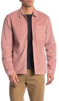 Wesc Nick Corduroy Zip Shirt Jacket