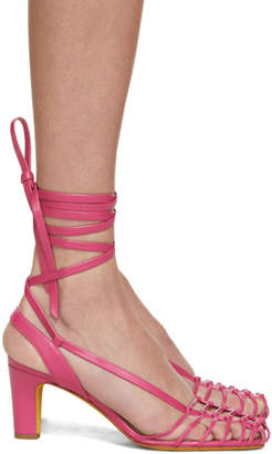 Maryam Nassir Zadeh Pink Maribel Sandals