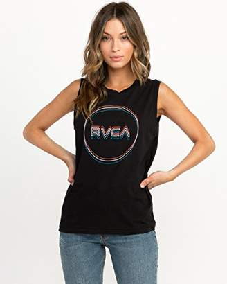RVCA Junior's TRI-Motors Sleeveless T-Shirt