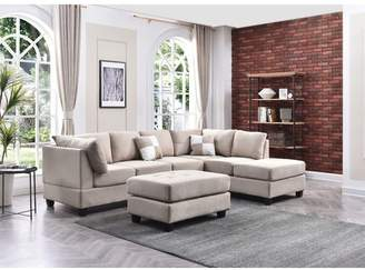 Andover Mills Bruns Reversible Sectional