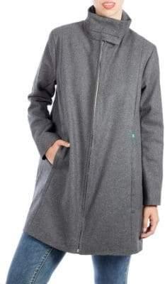 Ralph Lauren Modern Eternity Maternity 3-in-1 Wool-Blend A-Line Coat