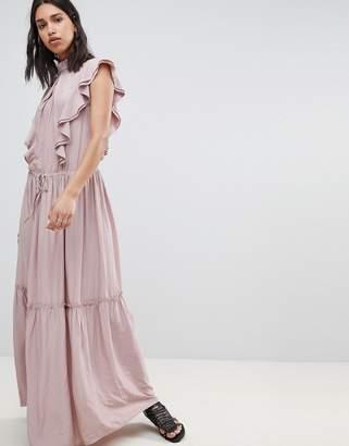 Sofie Schnoor high neck maxi dress