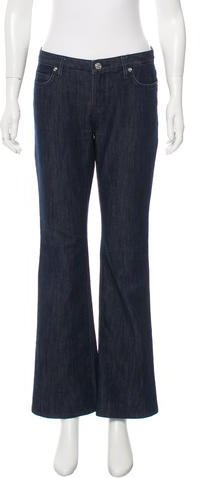 MICHAEL Michael KorsMichael Kors Mid-Rise Flared Jeans