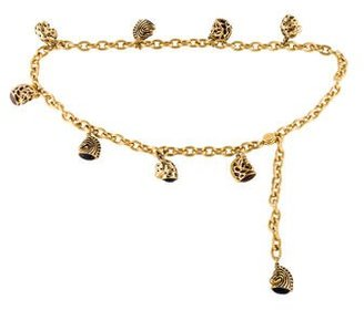Judith Leiber Animal Charm Chain Belt $195 thestylecure.com
