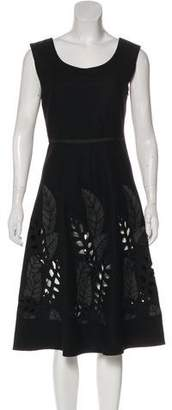 Emporio Armani Wool A-Line Dress