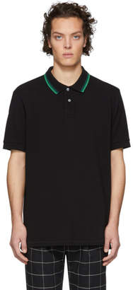 Paul Smith Black Regular Fit Polo
