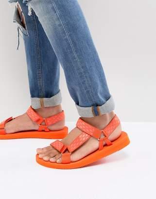 Aldo Moesen tech sandals in orange