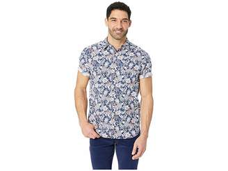 Nautica Short Sleeve Pineapple Print Woven Shirt