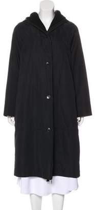 Akris Cashmere Hooded Coat