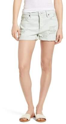 Lucky Brand Distressed Denim Boyfriend Shorts
