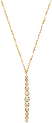 gorjana Mae Shimmer Pendant Necklace $65 thestylecure.com