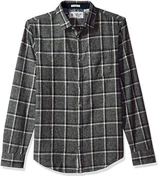 Original Penguin Men's Checkerboard Flannel Dress Shirt