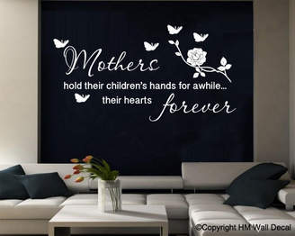 H&M Wall Decal Mothers Quote Removable Wall Decal