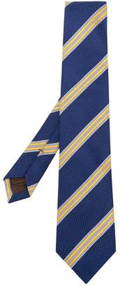 Church's striped woven tie