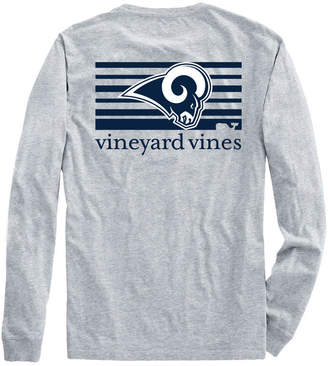 Vineyard Vines Adult Rams Long-Sleeve Block Stripe T-Shirt