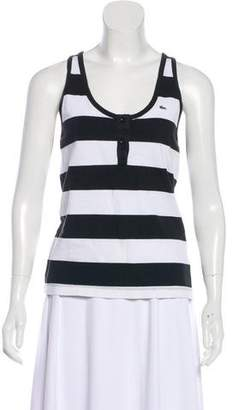 Lacoste Striped Sleeveless Top