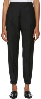 Prada Black Cropped Trousers