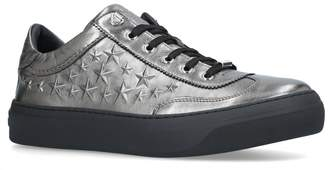 Jimmy Choo Ace Star Leather Sneakers