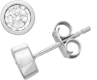 Unbranded 10k Gold 1/4-ct. T.W. Diamond Earrings