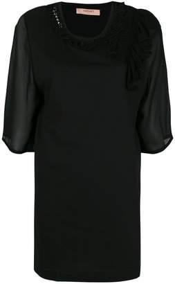 Twin-Set ruffle detail blouse