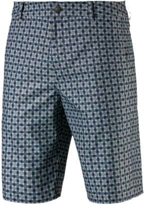 Puma Plaid-Print Shorts