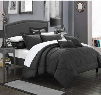 Chic Home Donna 7-Pc Queen Comforter Set Bedding