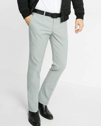 Express Extra Slim Heather Gray Dress Pant