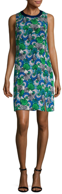 Emilio PucciSilk Print Shift Dress