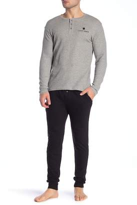 Lucky Brand Thermal Henley & Sleepwear Joggers Gift Set