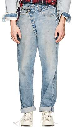 R 13 Men's Crossover Distressed Straight Levi's® Jeans