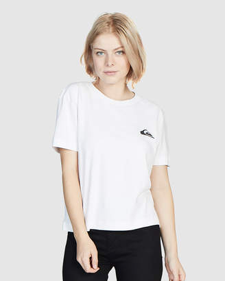 Quiksilver Womens Cropped Tee