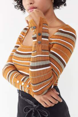 Urban Outfitters Sofie Square-Neck Sweater