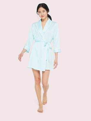 Kate Spade Bridal Happily Ever After Robe, Aqua - Size XS/S