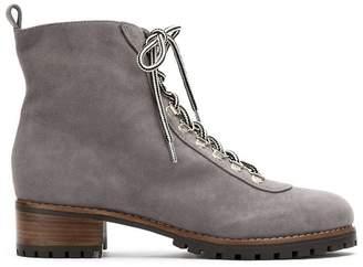 Framed Grey ankle boots