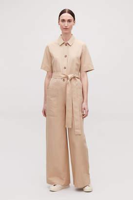 a01d43ba627 Button Up Jumpsuit - ShopStyle UK